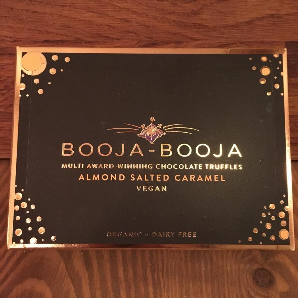 Chocolates - Booja-Booja Almond Salted Caramel