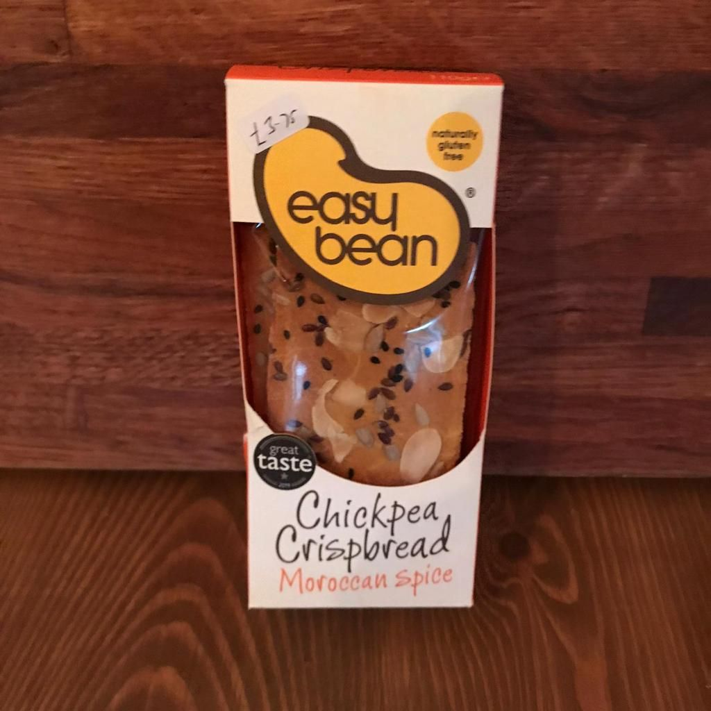 Crispbread - Chickpea Moroccan Spice