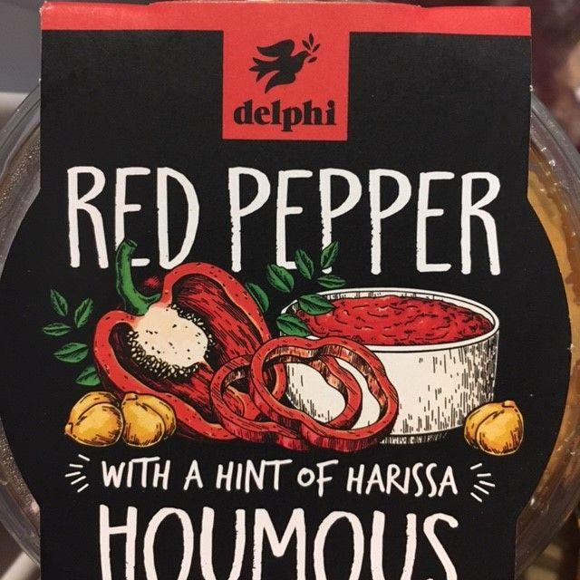Dips - Red Pepper Houmous