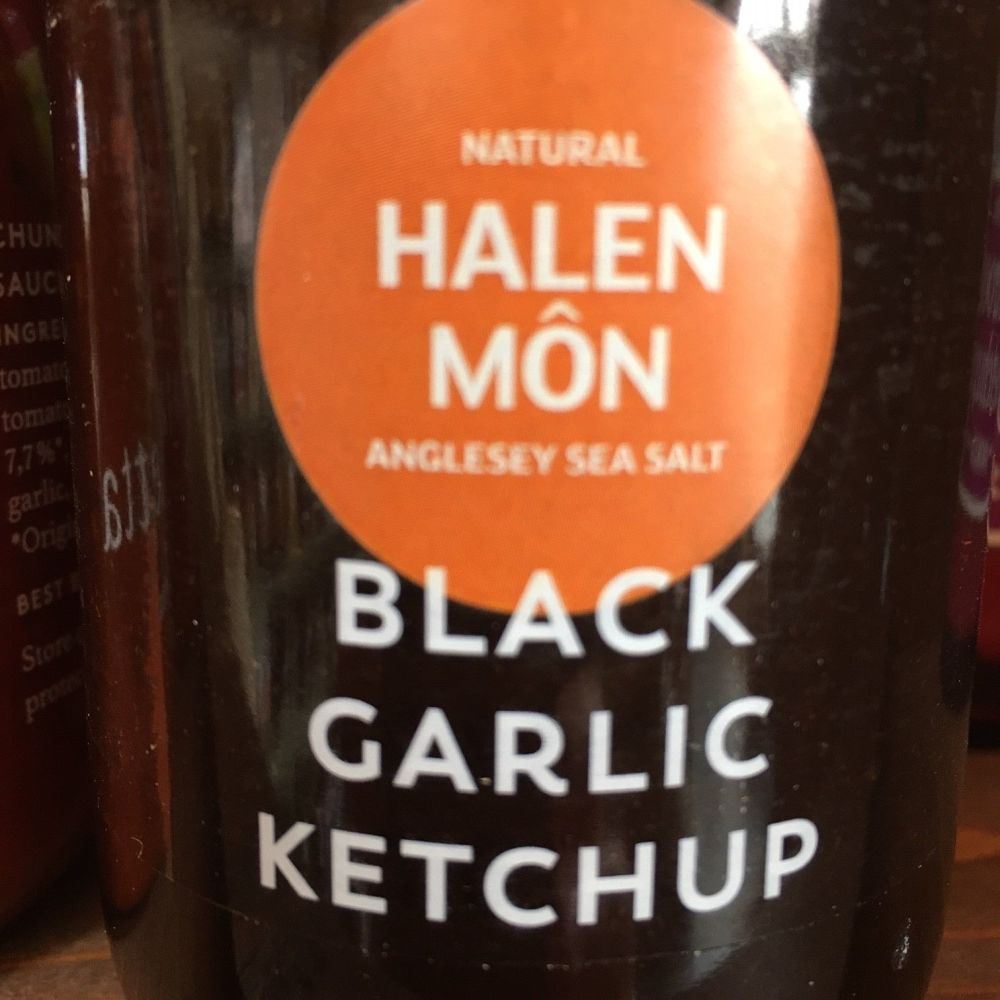 Halon Mon Black Garlic Ketchup