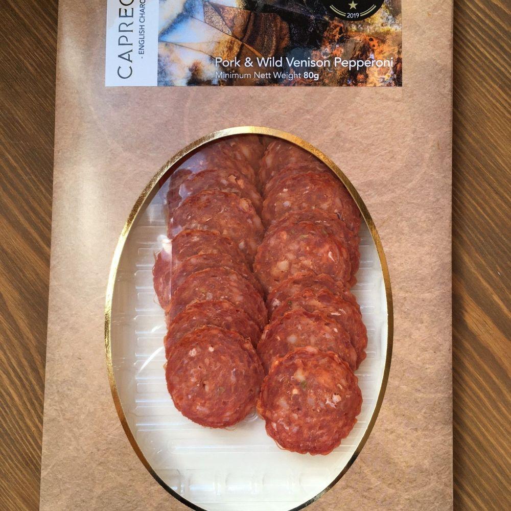 Pork & Wild venison salami - 80g