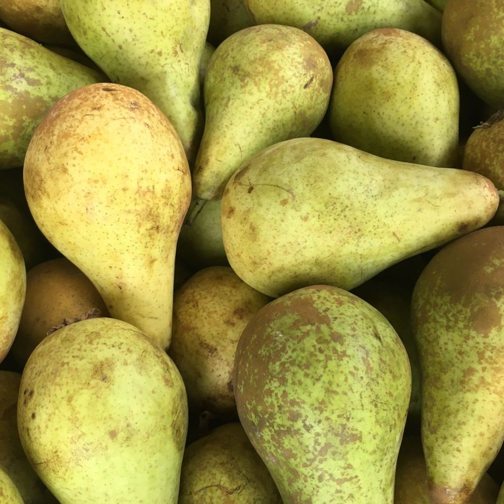 4 organic pears approximately 600g
