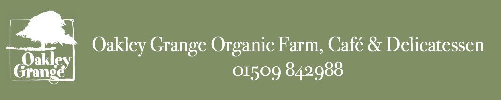 Oakley Grange Farm Deli & Cafe, site logo.