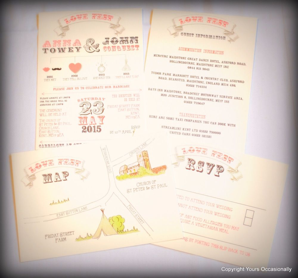 Festival Day Invitations