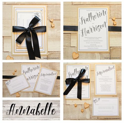 Annabelle Invitation