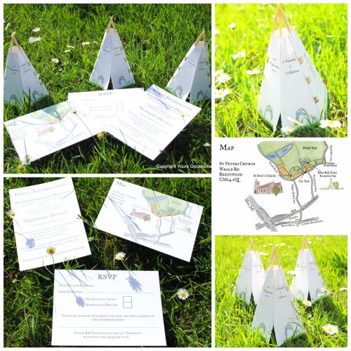 Tipi Invitation Collage 2