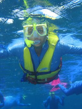 Fred Snorkelling