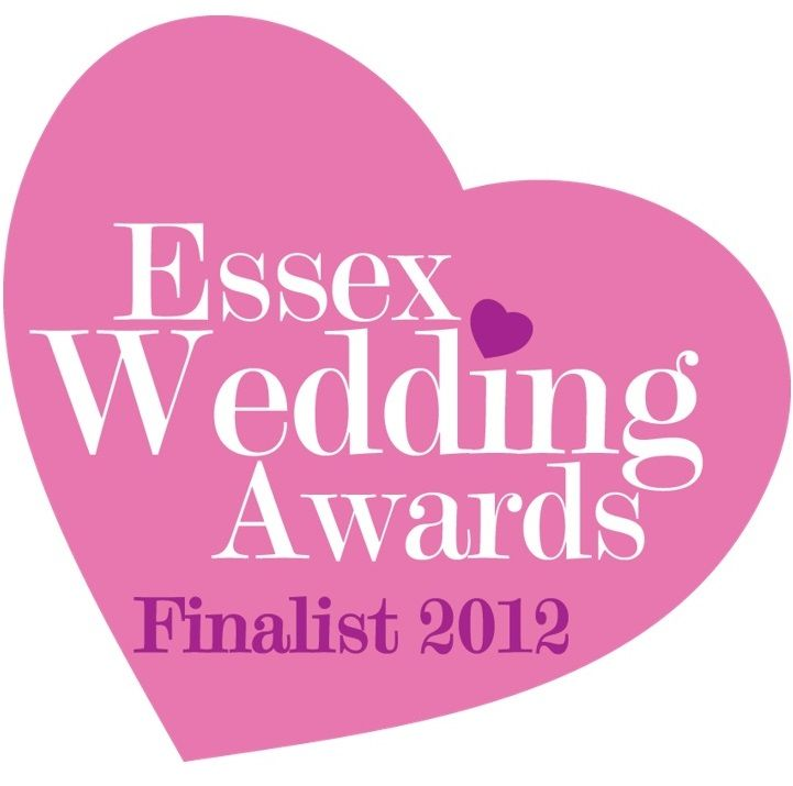 Essex Wedding Awards Finalist 2012
