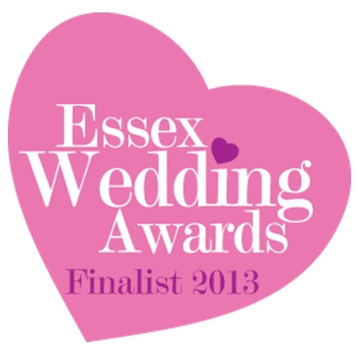 Essex Wedding Awards Finalist 2013