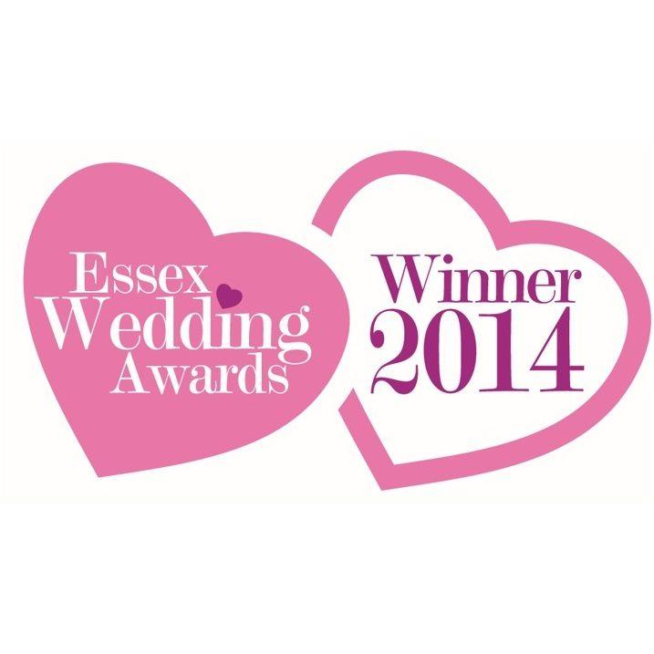 Essex Wedding Awards Winner  2014