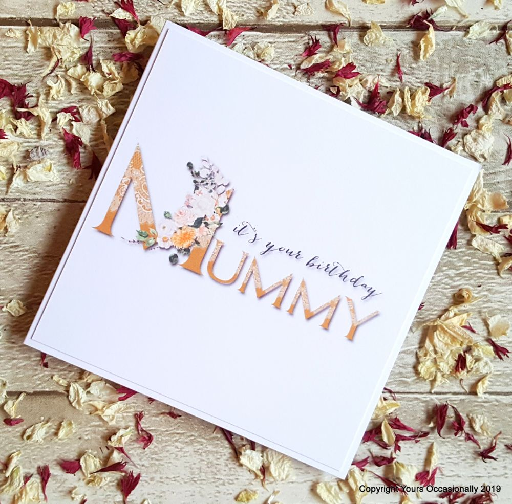 5. Floral Flare Birthday Cards