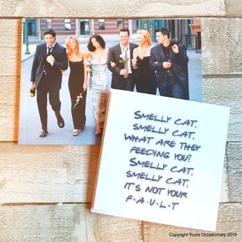 Smelly Cat - Greeting Card