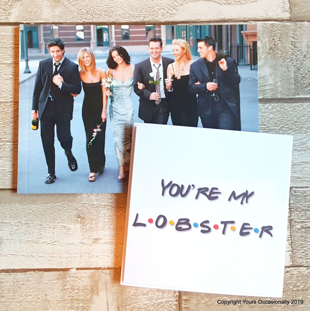 You're My Lobster - Greeting Card