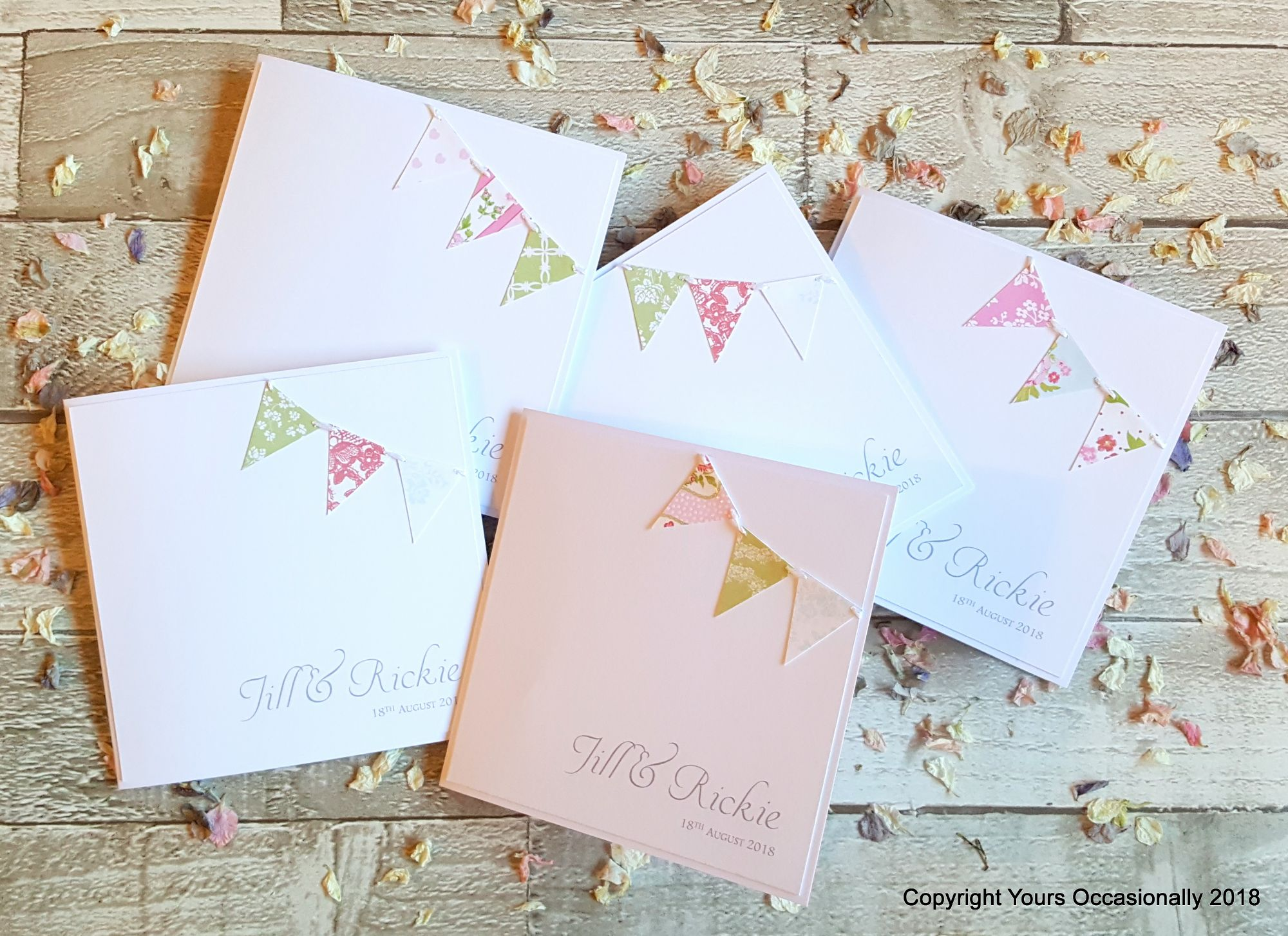 Flying the Flag Bookfold Invitations