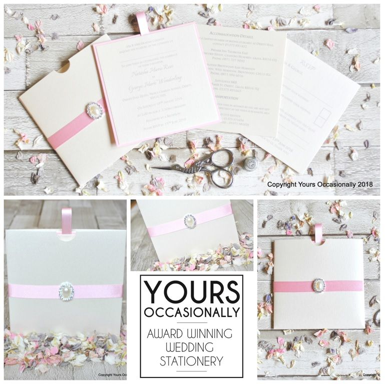 Pearl Passion Pocket Invitations
