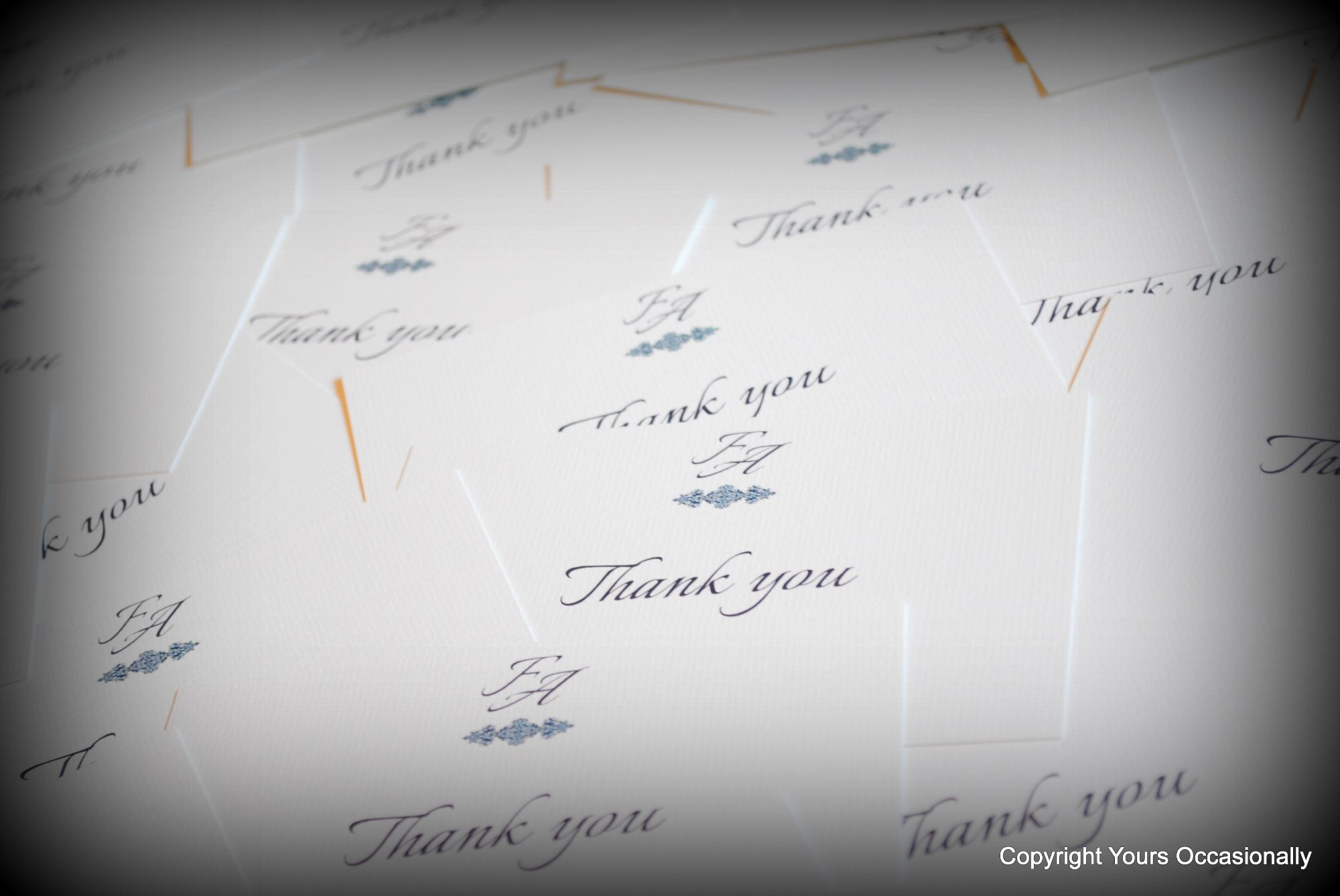 Bespoke Thank You Cards