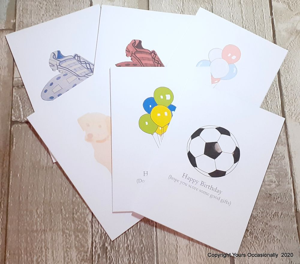 012. Hand Drawn Greeting Cards