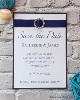 Subtle Sparkles Save the Date