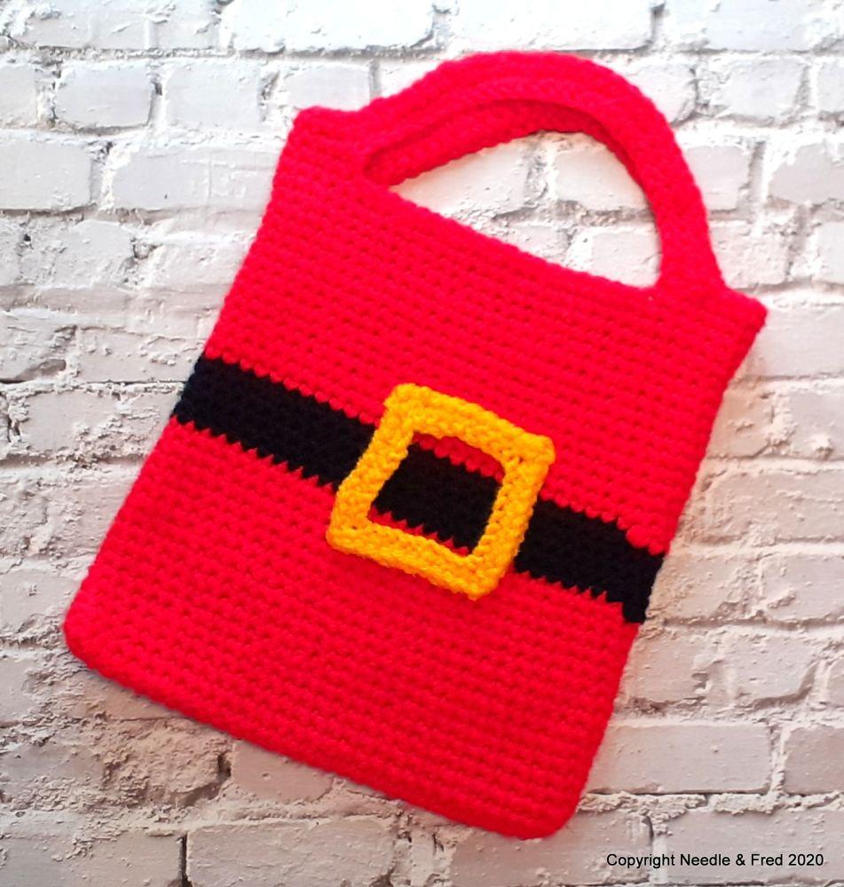001. Santa Tote Bag