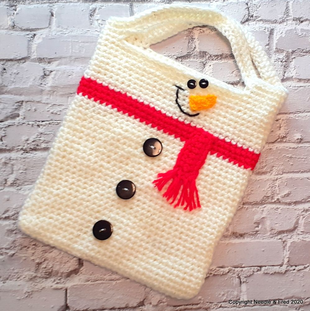 002. Snowman Tote Bag