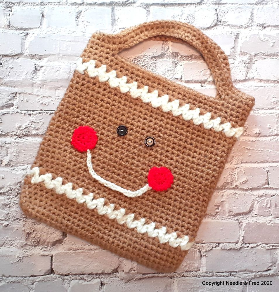 003. Gingerbread Tote Bag