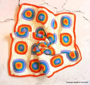 006. Rainbow of Hope Blanket - Large