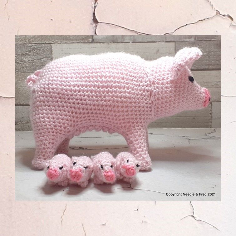 Mummy Pig and Piglets