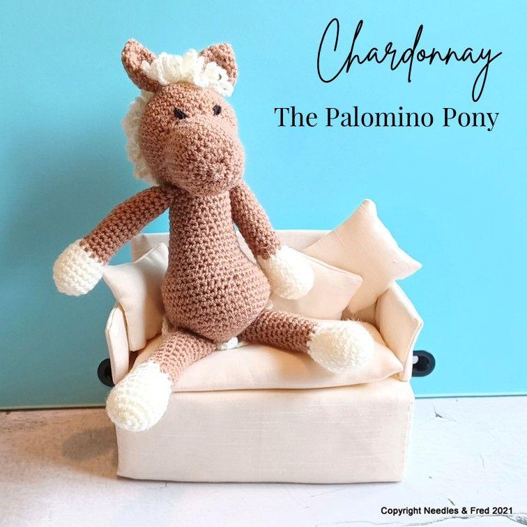 Chardonnay the Palomino Pony