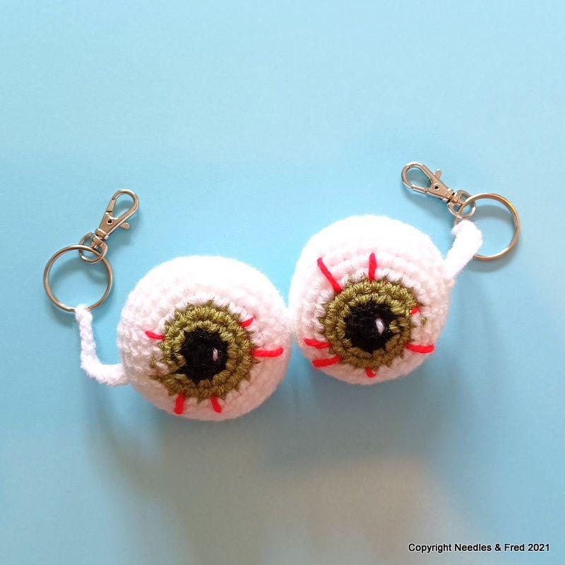 Iris the Eyeball Key Chain