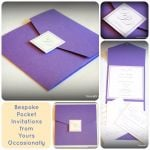 Pocket Invitation Collage
