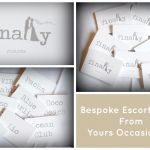 Escort Card Collage