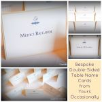 Table Name Cards Collage