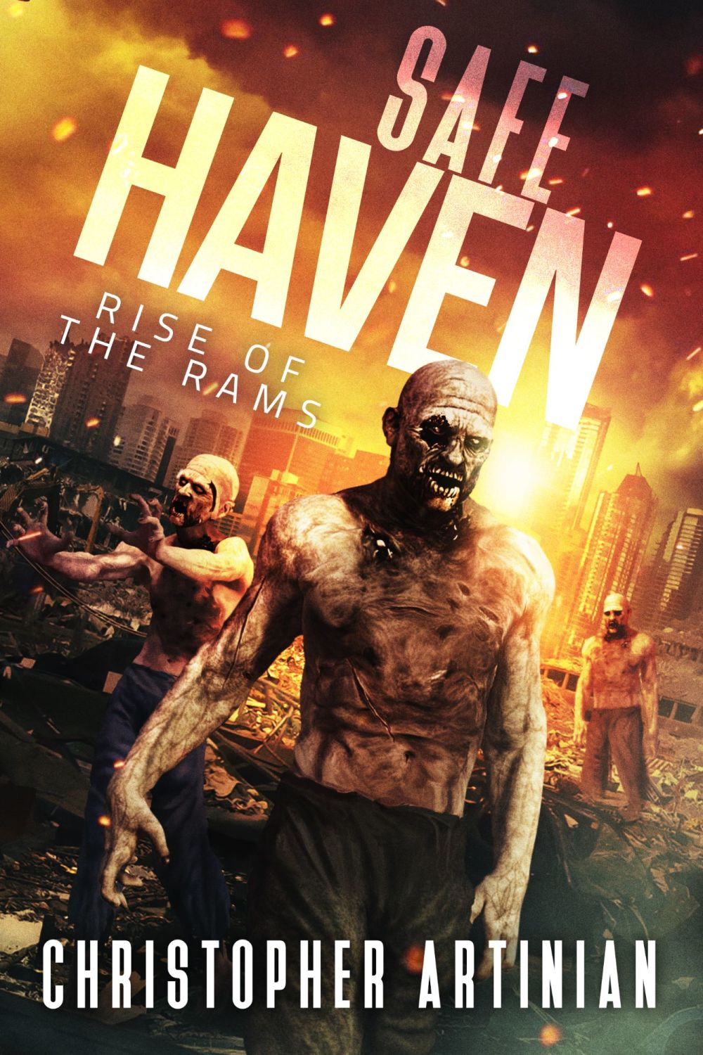 SAFE HAVEN: RISE OF THE RAMS (CVR 2) (SIGNED A4 PRINT)