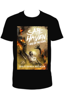 SAFE HAVEN - RISE OF THE RAMS (ORIGINAL SLEEVE DESIGN) T-SHIRT