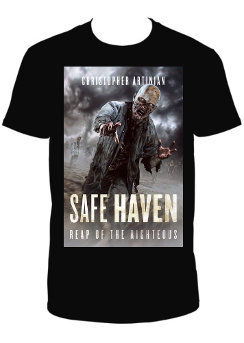 SAFE HAVEN - REAP OF THE RIGHTEOUS T-SHIRT