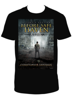 BEFORE SAFE HAVEN: ALEX T-SHIRT