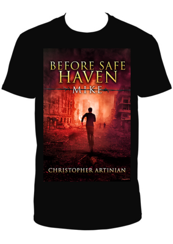 BEFORE SAFE HAVEN: MIKE T-SHIRT
