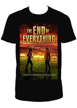 THE END OF EVERYTHING BOOK 2 - T-SHIRT