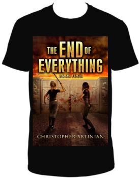 THE END OF EVERYTHING BOOK 4 - T-SHIRT