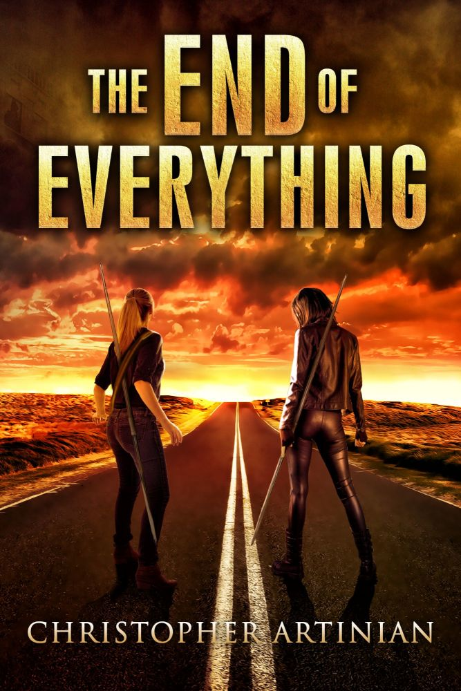 THE END OF EVERYTHING: BOOK 1 (SIGNED A4 PRINT)