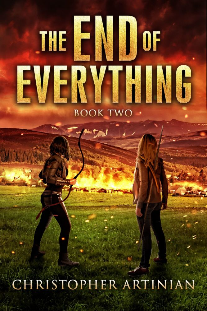 THE END OF EVERYTHING: BOOK 2 (SIGNED A4 PRINT)