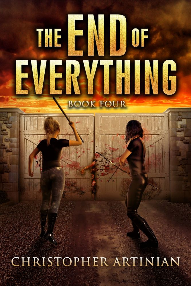 THE END OF EVERYTHING: BOOK 4 (SIGNED A4 PRINT)
