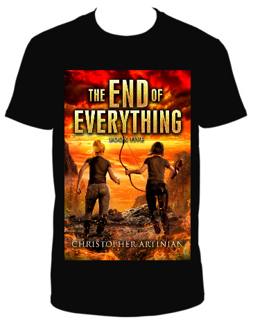 THE END OF EVERYTHING: BOOK 5 T-SHIRT