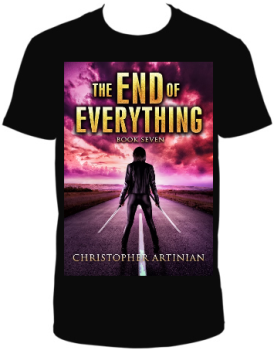THE END OF EVERYTHING: BOOK 7 T-SHIRT