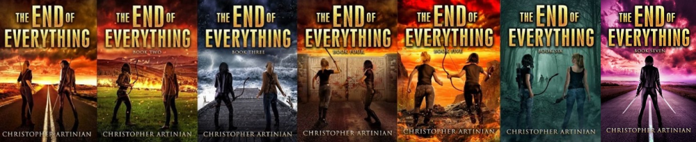 THE END OF EVERYTHING SET OF 7 (6' X 4') SIGNED PRINTS