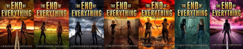 THE END OF EVERYTHING - SET OF 7 SIGNED PAPERBACKS