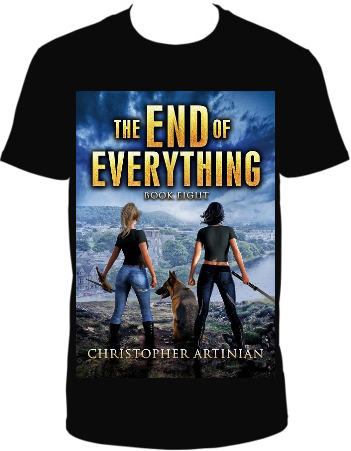 THE END OF EVERYTHING BOOK 8 - T-SHIRT