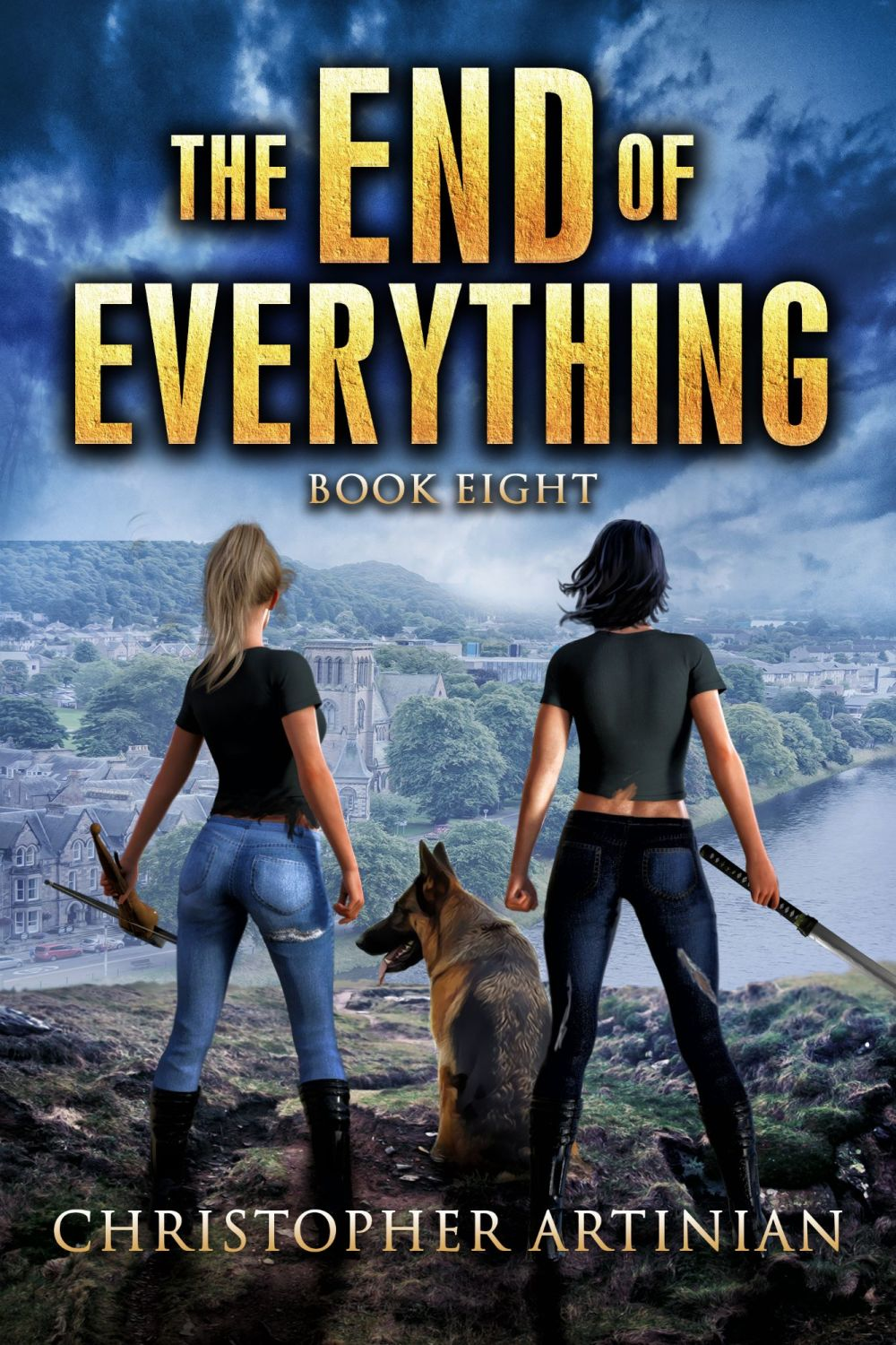 THE END OF EVERYTHING: BOOK 8 (SIGNED PAPERBACK)