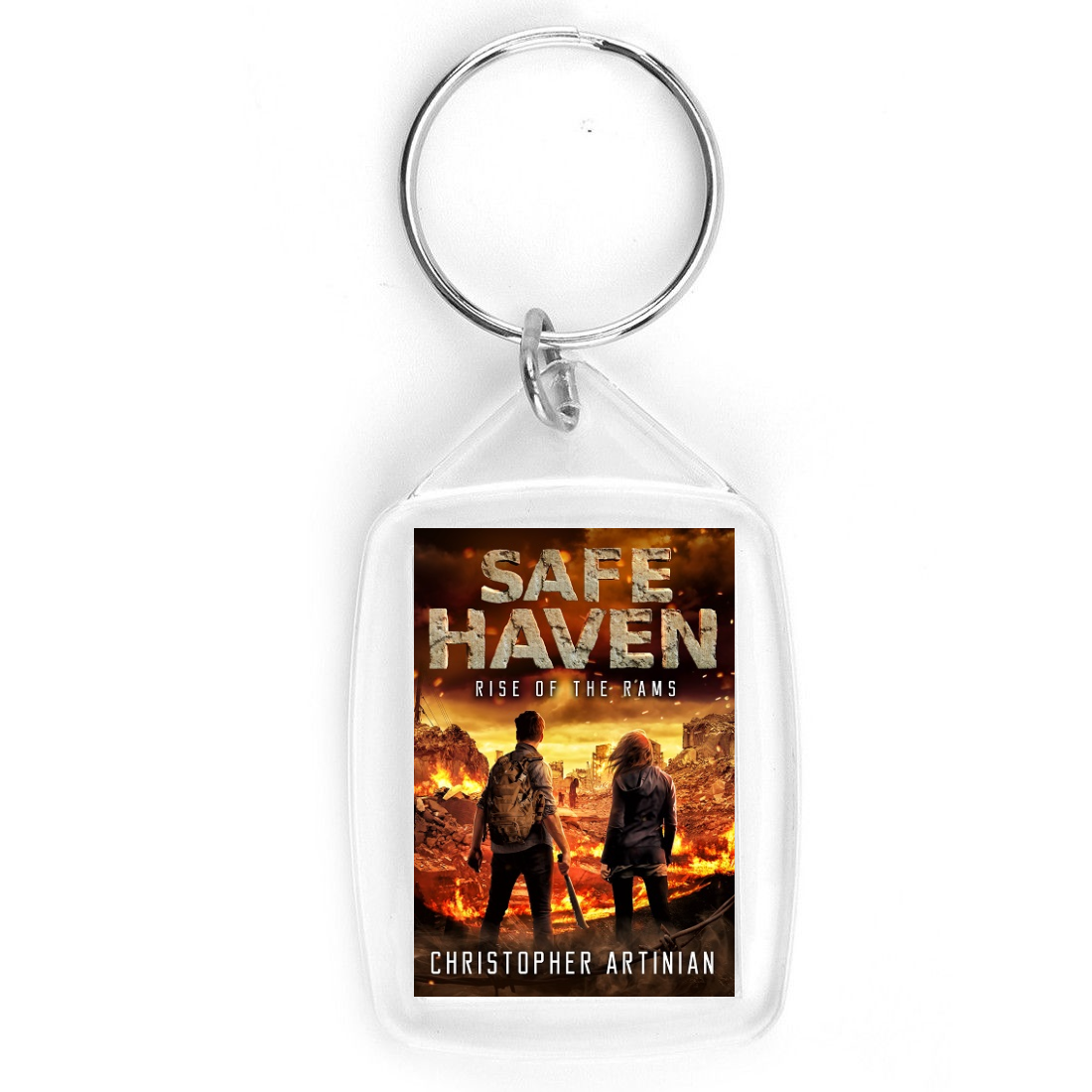 SAFE HAVEN: RISE OF THE RAMS (NEW DESIGN) (KEYRING)