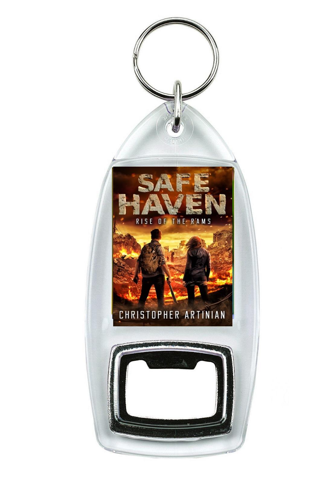 SAFE HAVEN: RISE OF THE RAMS (NEW DESIGN) (BOTTLE OPENER KEYRING)